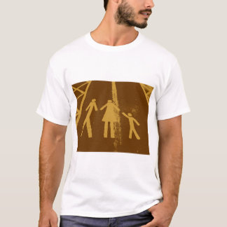 Parking Lot Abduction in Chocolate Fudge T-Shirt