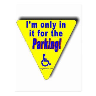 parking postcard