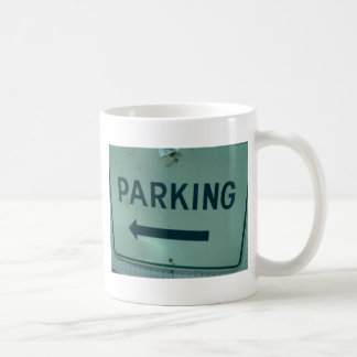 Parking Sign Products Classic White Coffee Mug