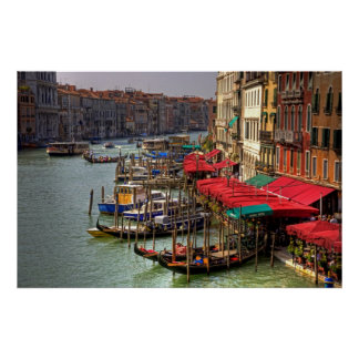 Parking Spaces (Venice Style) Poster