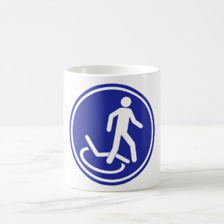 PARKING ZONE FOR DISABLED COFFEE MUG