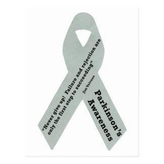 Parkinson s Awareness Ribbon Postcards