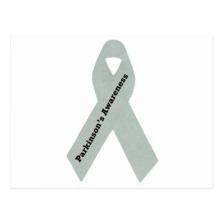 Parkinson s Awareness Ribbon Postcard