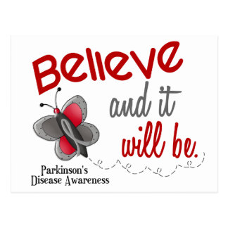 Parkinson's Butterfly 2 Believe And It Will Be Postcard
