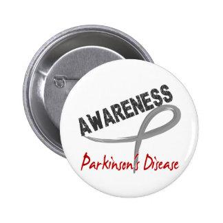 Parkinson s Disease Awareness 3 Button