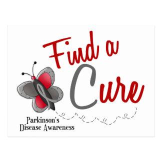 Parkinson's Disease Butterfly 2 Find A Cure Postcard