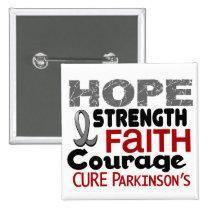 Parkinson's Disease HOPE 3 Button