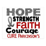 Parkinson's Disease HOPE 3 Postcard