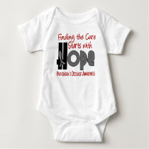 Parkinson's Disease HOPE 4 Baby Bodysuit