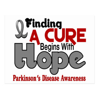 Parkinson's Disease HOPE 5 Postcard