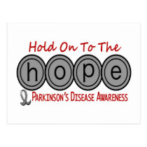 Parkinson's Disease HOPE 6 Postcard