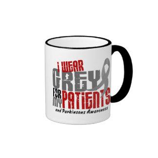 Parkinson's Disease I WEAR GREY FOR MY PATIENTS 6. Ringer Mug