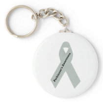 Parkinson's Awareness Ribbon Keychain