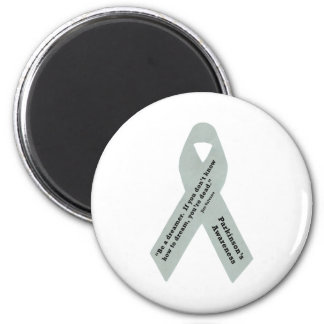 Parkinson's Awareness Ribbon Magnet