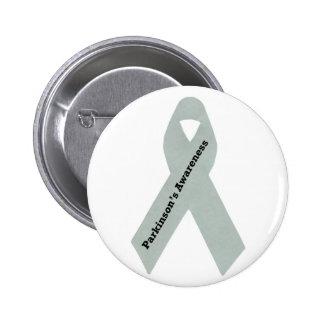Parkinson's Awareness Ribbon Pinback Button