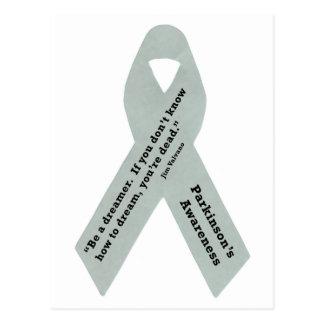 Parkinson's Awareness Ribbon Postcard