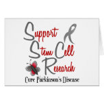 Parkinson's Butterfly 2 Support Stem Cell Research Greeting Cards
