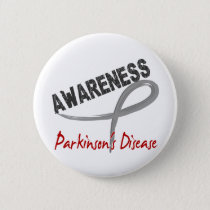 Parkinson's Disease Awareness 3 Button