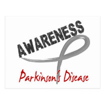 Parkinson's Disease Awareness 3 Postcard
