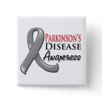 Parkinsons Disease Awareness Ribbon Pinback Button