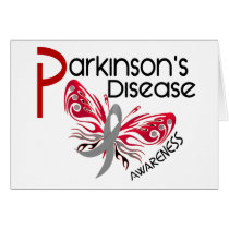 Parkinsons Disease BUTTERFLY 3.1 Card