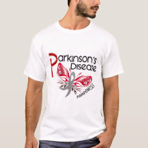 Parkinsons Disease BUTTERFLY 3.1 T-Shirt