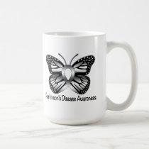 Parkinson's Disease Butterfly Awareness Ribbon Coffee Mug