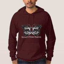 Parkinson's Disease Butterfly Awareness Ribbon Hoodie