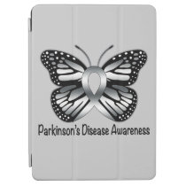 Parkinson's Disease Butterfly Awareness Ribbon iPad Air Cover