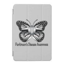 Parkinson's Disease Butterfly Awareness Ribbon iPad Mini Cover