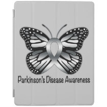 Parkinson's Disease Butterfly Awareness Ribbon iPad Smart Cover