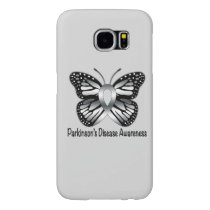 Parkinson's Disease Butterfly Awareness Ribbon Samsung Galaxy S6 Case
