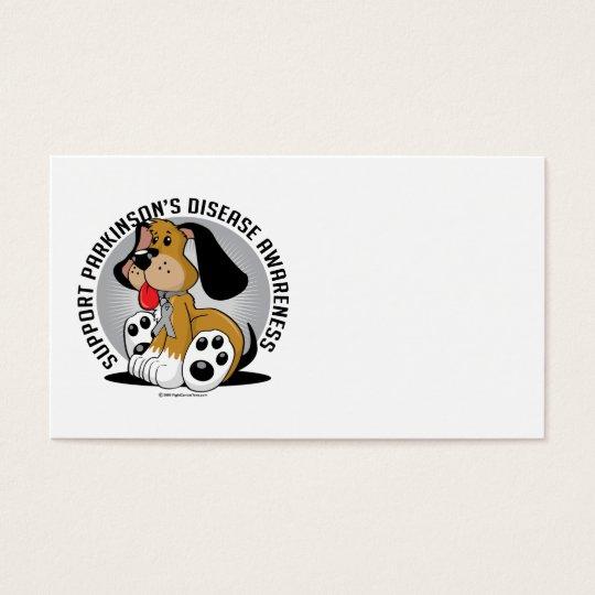 Parkinson's Disease Dog Business Card
