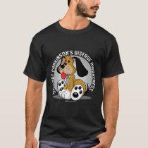 Parkinson's Disease Dog T-Shirt