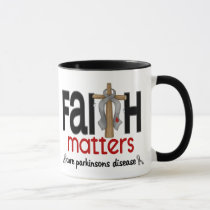 Parkinsons Disease Faith Matters Cross 1 Mug