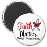 Parkinson's Disease Faith Matters Refrigerator Magnets