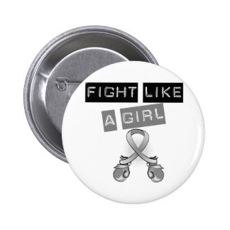 Parkinson's Disease Fight Like A Girl 2 Inch Round Button