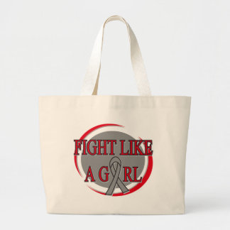 Parkinsons Disease Fight Like A Girl Circular Canvas Bag