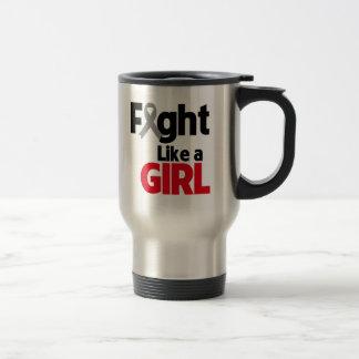 Parkinsons Disease Fight Like a Girl Coffee Mug