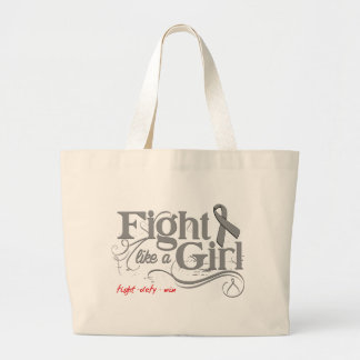Parkinson's Disease Fight Like A Girl Elegant Canvas Bags