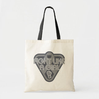 Parkinsons Disease Fight Like A Girl Glove Tote Bags