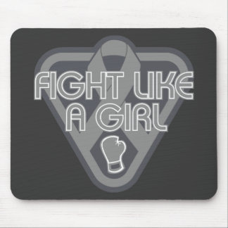Parkinsons Disease Fight Like A Girl Glove Mouse Pads
