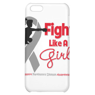 Parkinson's Disease Fight Like A Girl Knock Out Cover For iPhone 5C