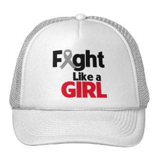 Parkinsons Disease Fight Like a Girl Mesh Hat