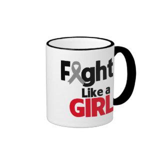 Parkinsons Disease Fight Like a Girl Mugs