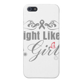 Parkinson's Disease Fight Like A Girl Ornate iPhone 5 Case