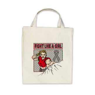 Parkinsons Disease Fight Like A Girl Punch Canvas Bag