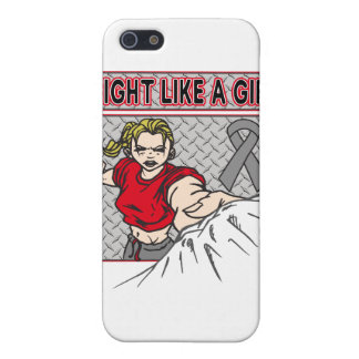 Parkinsons Disease Fight Like A Girl Punch Cases For iPhone 5