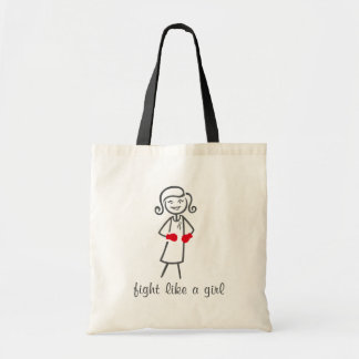 Parkinsons Disease Fight Like A Girl (Retro) Bag