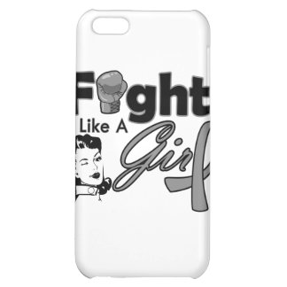 Parkinsons Disease Fight Like A Girl - Retro Girl Case For iPhone 5C
